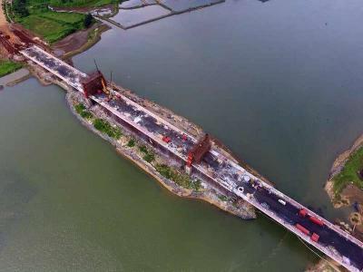 海南盈binban岛海wan大桥钢结构检测