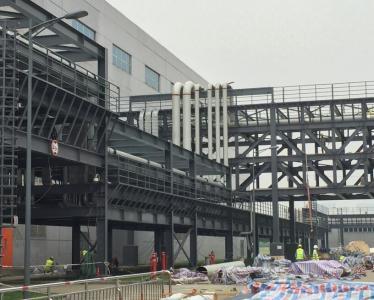 美guode州仪器(成都)厂区管道超声bo探伤